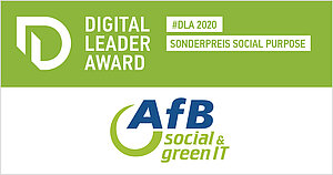 Logo Digital Leader Award & AfB Logo